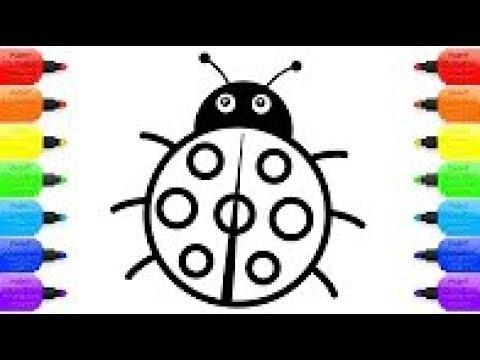 Coccinelle colorier comment dessiner chenille dessin - Coccinelle a colorier ...