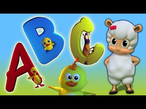 ABC Song | Learn Alphabets in Portuguese | abc canção em português | alfabetos para crianças
