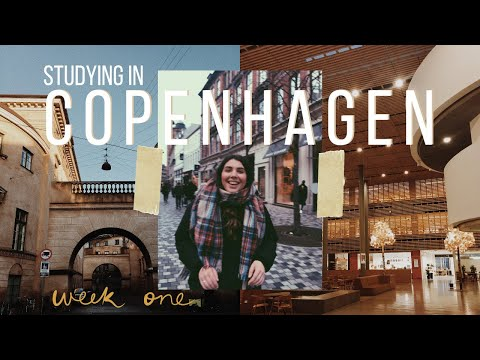 (kind of) learning Danish at the University of Copenhagen and exploring the city