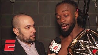 'I was overcome with emotion' – Kofi Kingston after winning WWE Title | WWE