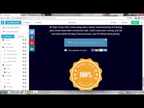 Integrazione Leadpages E Getresponse [Video Tutorial Leadpages]