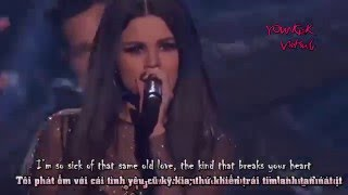 [Vietsub] Selena Gomez - Same Old Love [Live AMA