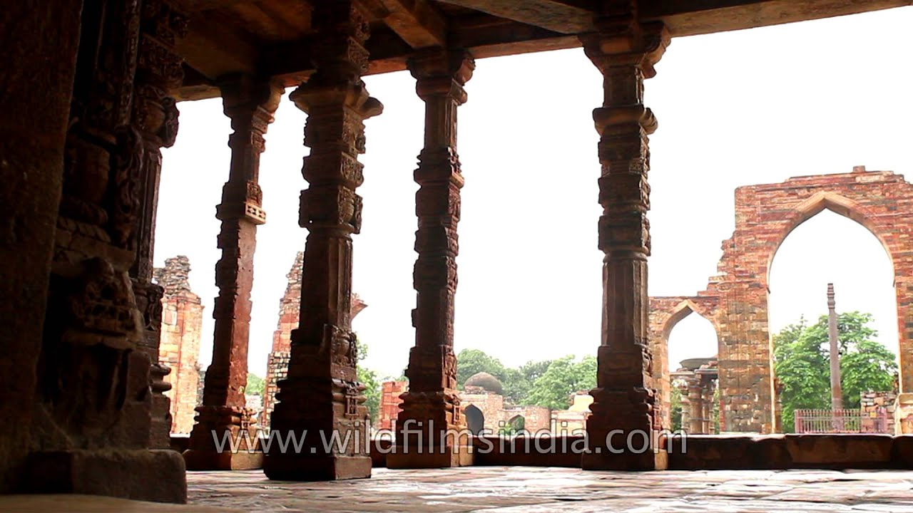 Qutub Minar and the complex - YouTube