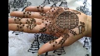 आसान मेहँदी डिज़ाइन जो कोई भी बना सके - Beautiful and Easy Henna design