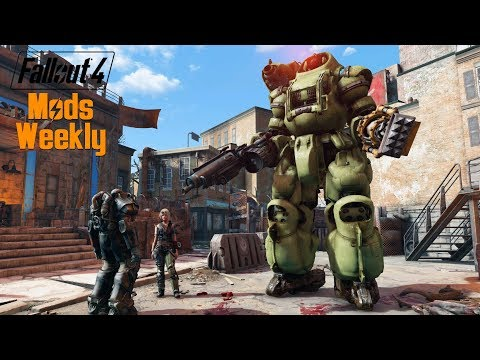 GIANT RIDABLE ROBOTS – Fallout 4 Mods Weekly – Week 77 (PC/Xbox One)