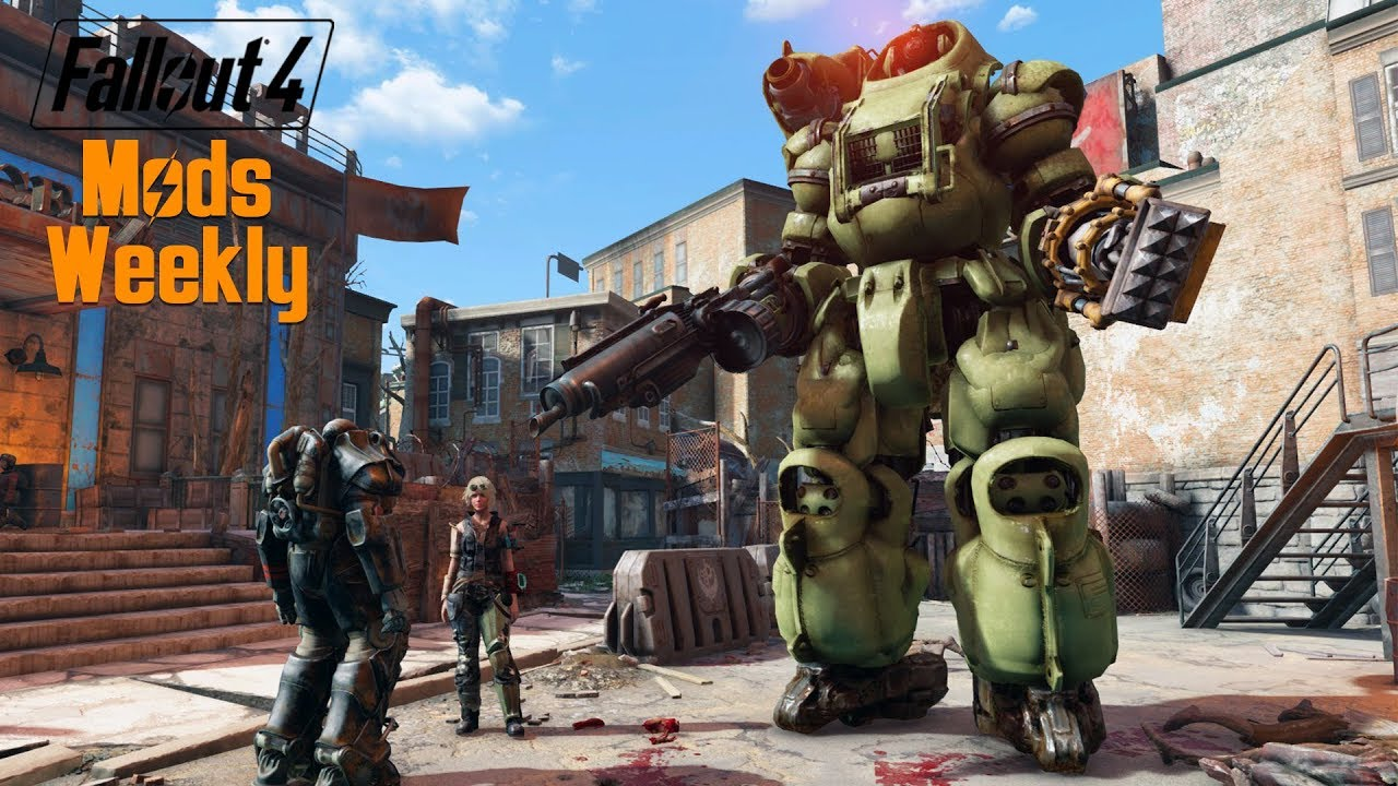 GIANT RIDABLE ROBOTS - Fallout 4 Mods Weekly - Week 77 (PC ...