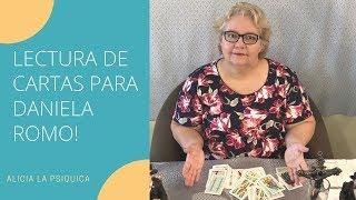 LECTURA DE CARTAS PARA DANIELA ROMO!