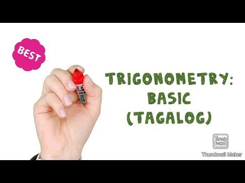 Trigonometry: Basic (Tagalog) thumbnail