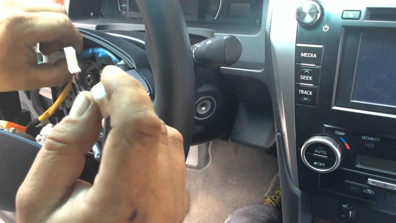 Toyota Camry 50 круиз контроль своими руками 5 мин.
