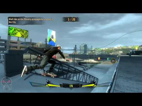 Shaun White Skateboarding   PC Gameplay   1080p HD   Max Settings