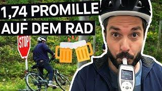 Selbstversuch: Betrunken fahrradfahren -  Wie gefährlich ist es wirklich? || PULS Reportage