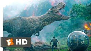 Jurassic World: Fallen Kingdom  2018  - Saved By Rexy Scene  4/10  | Movieclips