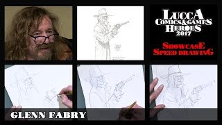 [Lucca Comics & Games] Speed Drawing: Glenn Fabry
