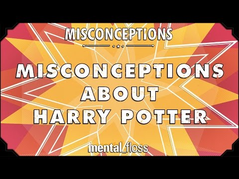 Misconceptions about Harry Potter - mental_floss on YouTube (Ep. 29)