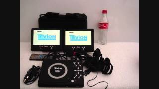Tevion In Car DVD player Used  Twin Short slide show video