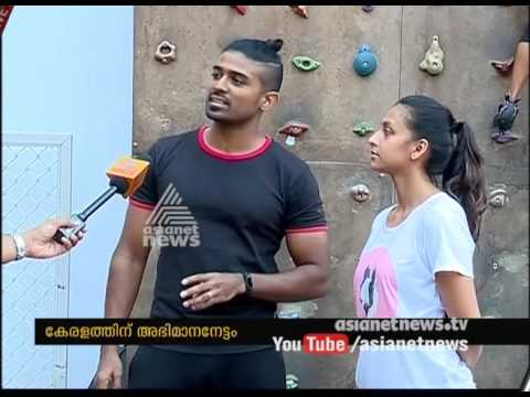 3 Kerala athletes won medal in south zone Sport climbing competition