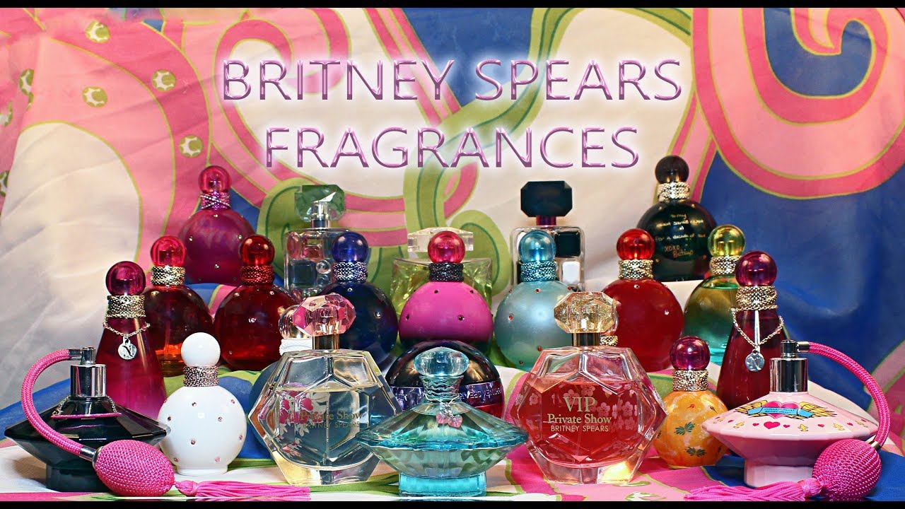 Fragrance Knockout Britney Spears Fragrances Among The Stars