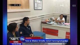 Tora Sudiro dan Mieke Amalia Masih Diperiksa Polisi Dugaaan Kasus Narkoba - NET16