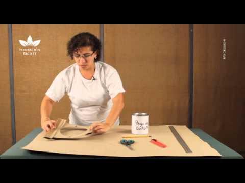 Elaboración de sombreros de cartón. Parte 1 - YouTube a04db483348