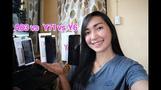 Triple Comparison Oppo A83 VS Vivo Y71 VS Huawei Y6 (Speed, Camera and Battery)