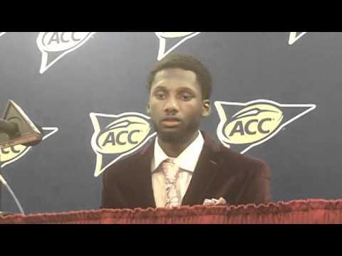 Jacory Harris - Miami/Florida State Post-Game 11-12-11