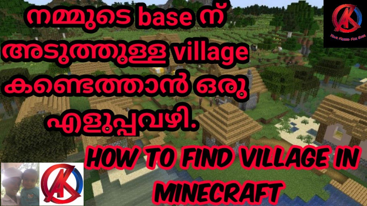 Download How to find our nearest village in minecraft Malayalam. MCPE . AK BRO.