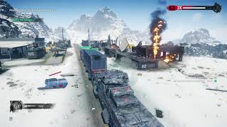 Just Cause 4 - Sandstinger: Train Robbery - Defend The Train cannon