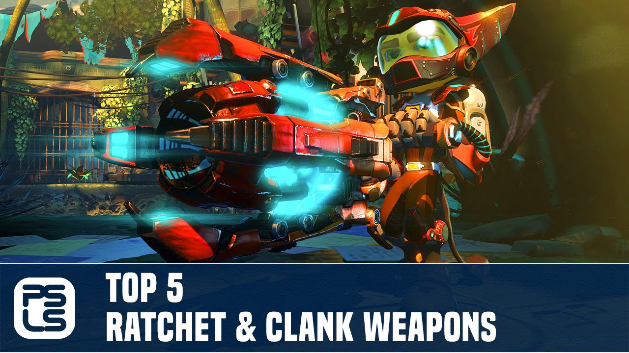 Top 5 Ratchet Clank Weapons Youtube