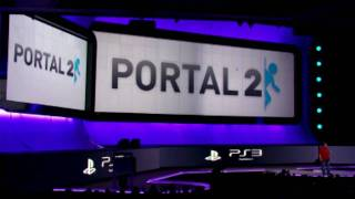 PS3 E3 Keynote Valve Surprise: Portal 2