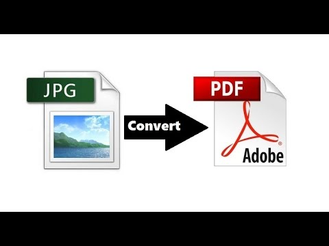 How To Convert JPG To PDF Online For Free | Without Software 2016