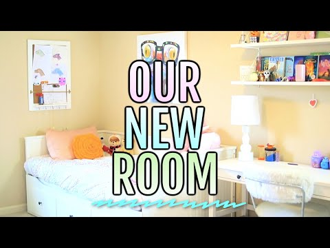 TWiNS Get an EXTREME ROOM MAKEOVER!  Transformation + ROOM TOUR 2019