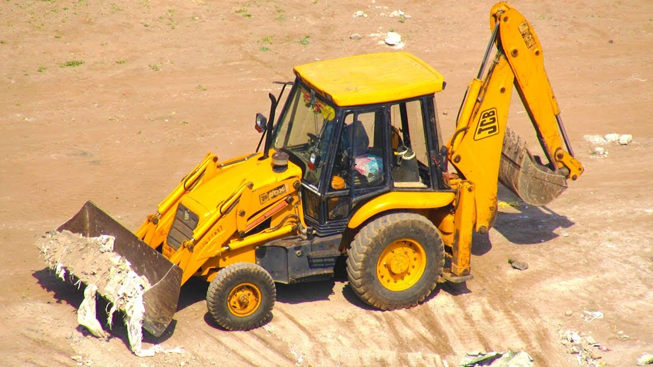 Excavator Truck For Children Jcb Truck At Work Dumper Truck Compilation Video 2