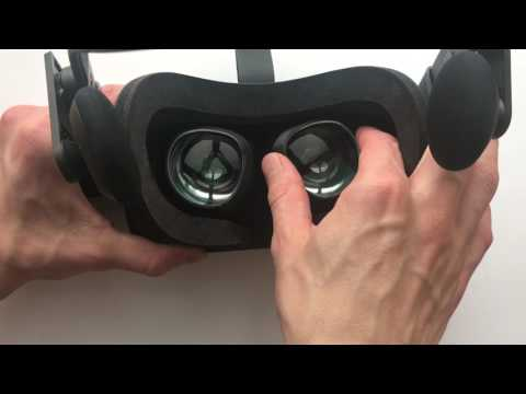 Oculus Rift VR Optician Prescription Lens installation