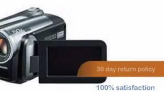 Panasonic SDR-H60 60GB Hard Disk Drive / SD Hybrid Camcorder