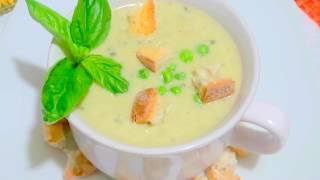 Гороховый Крем-Суп * Нежность со Сливочным Вкусом!