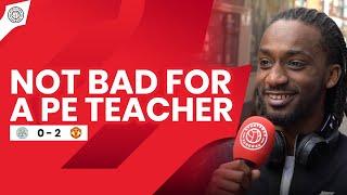 Not Bad For A PE Teacher! | Ronaldo & Casey Fancam | Leicester 0-2 Manchester United
