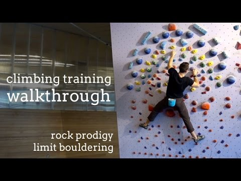 <div>Rock Climber's Training Manual – Limit Bouldering Routine</div>