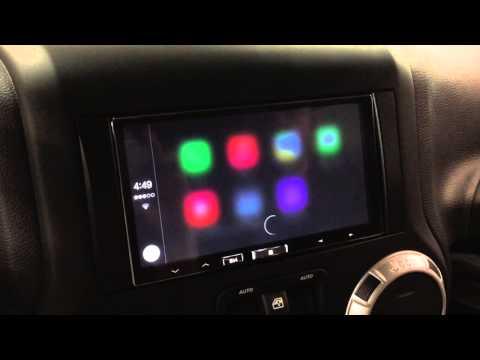 Apple CarPlay on Alpine iLX-007