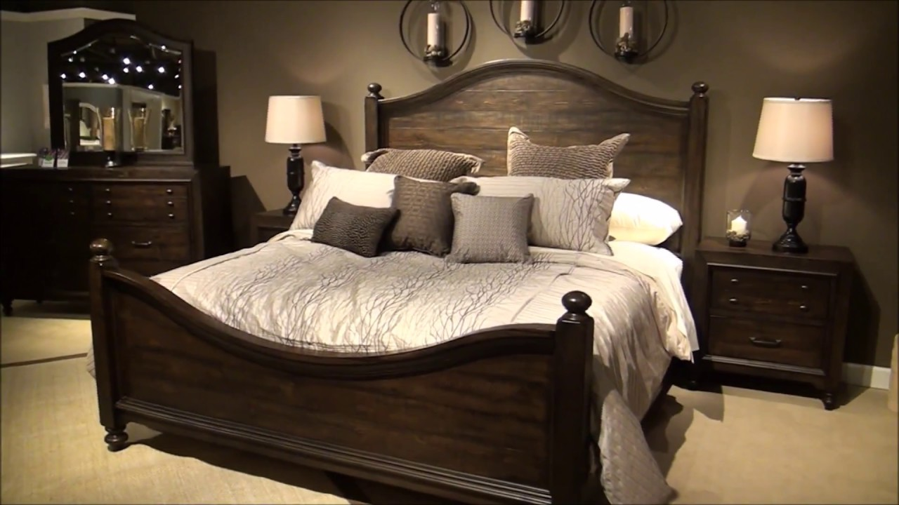Catawba Hills Poster Bedroom Set by Liberty Furniture - YouTube