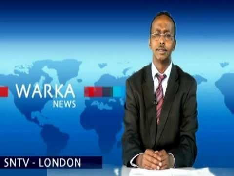 Abdullahi Hussein Maaryaa live from SNTV Somali National Television Studios in London