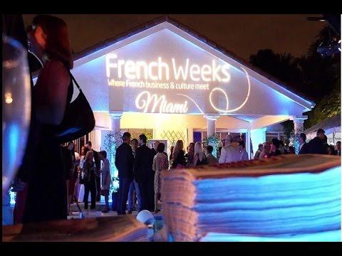 les miami french weeks organises par la facc chambre de commerce franco amricaine
