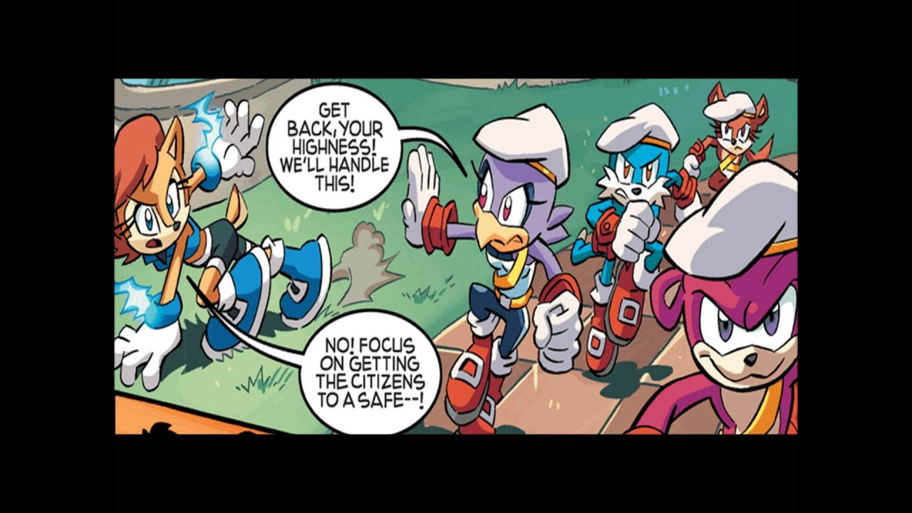 Sonic the Hedgehog Comic Issue #256