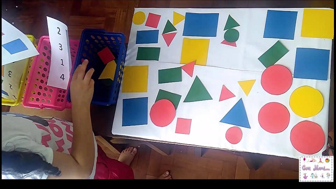 Listado De Figuras Geometricas Actividad De Figuras Y Cantidad