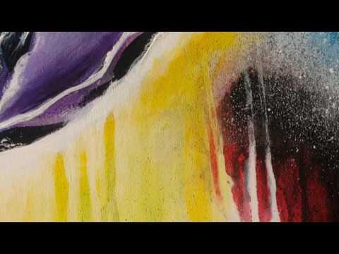 Rachel Queiroz - Felicidade - Abstract Painting