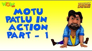 Watch Motu Patlu in ACTION -Funny Gags Compilation - Part 1- As seen on Nickelodeon