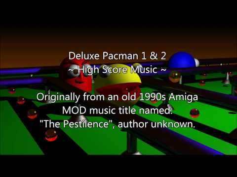 Deluxe Pacman 1 & 2 - High Score Music