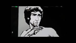Art with Tesla Bruce Lee