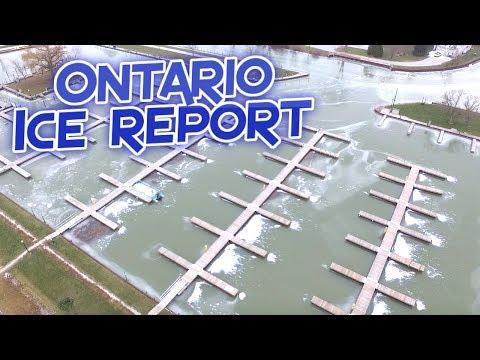 Ontario ICE Report Lake & Marina