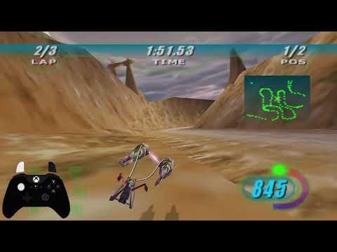 Grabvine Gateway (PB)- 4:03.738 Star Wars Episode 1: Racer |