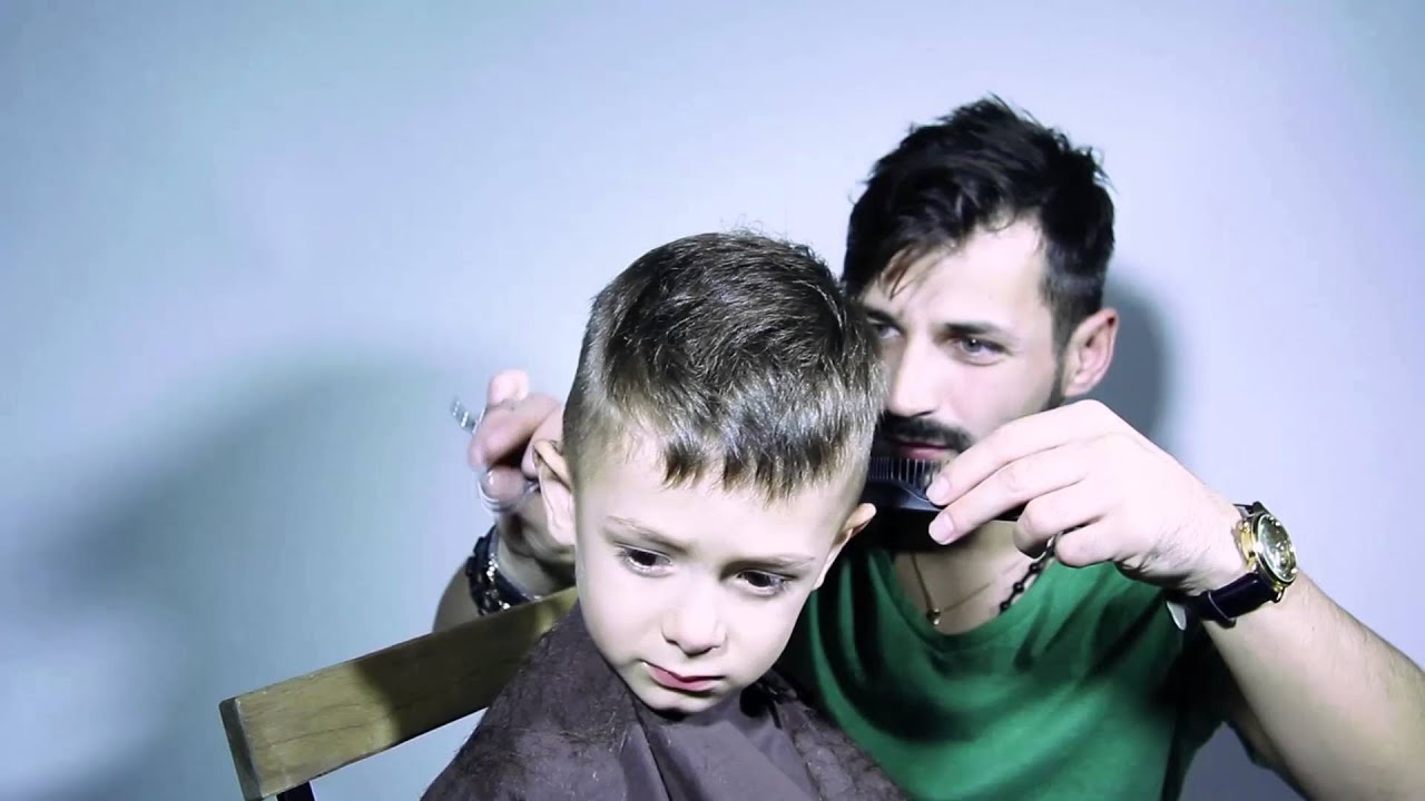 Tunsoare Copii Tuns Copii Frizerie Adrian Niculescu Youtube